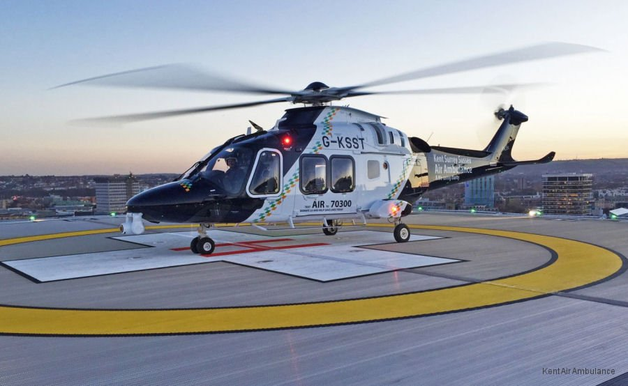 Hospitals & Healthcare helicopter
